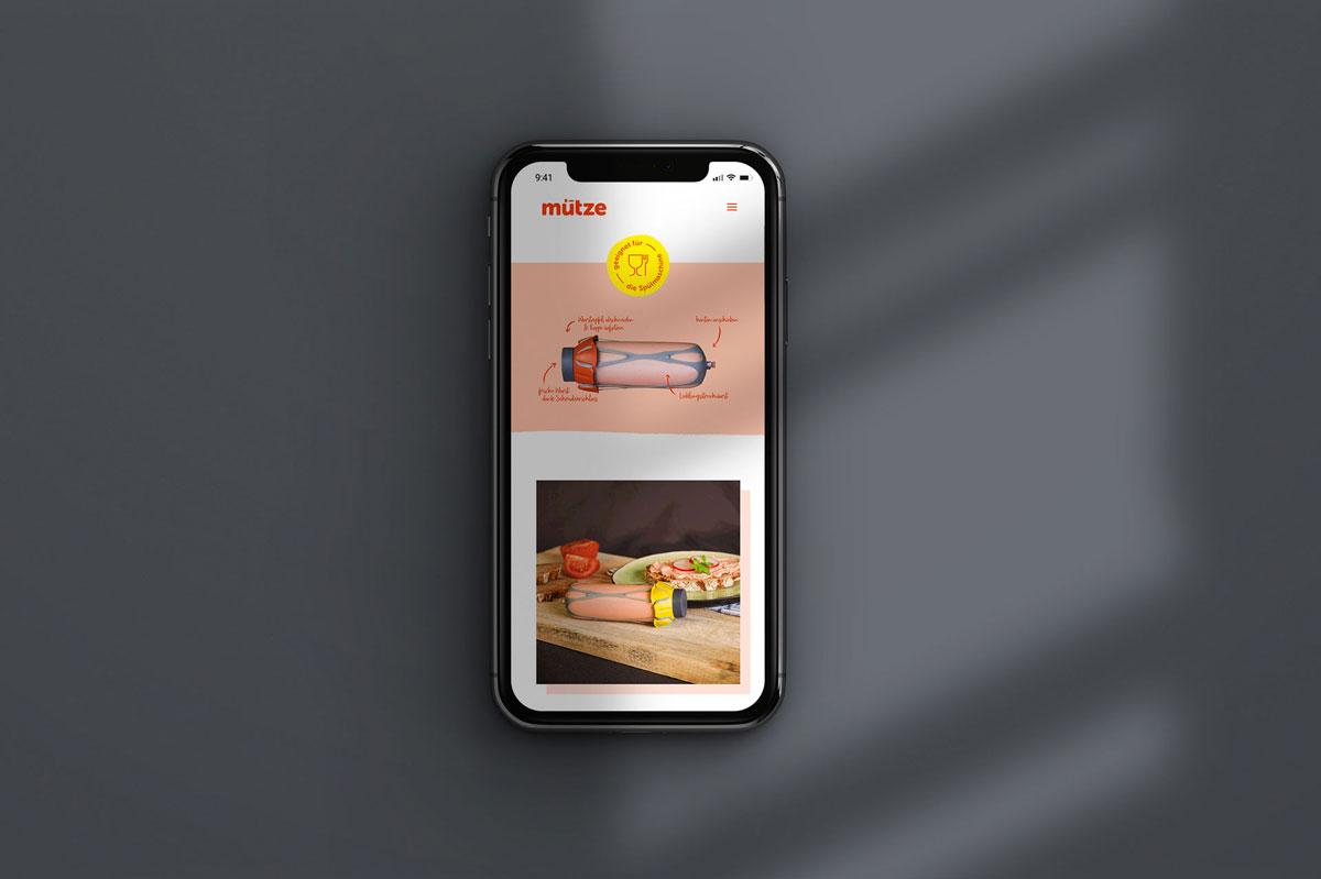 Mütze Screendesign